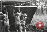 Image of Elements of U.S. 6th Cavalry Division in maneuvers at Fort Olgelthorpe Fort Oglethorpe Georgia USA, 1942, second 8 stock footage video 65675063110
