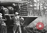 Image of Elements of U.S. 6th Cavalry Division in maneuvers at Fort Olgelthorpe Fort Oglethorpe Georgia USA, 1942, second 9 stock footage video 65675063110