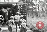 Image of Elements of U.S. 6th Cavalry Division in maneuvers at Fort Olgelthorpe Fort Oglethorpe Georgia USA, 1942, second 12 stock footage video 65675063110
