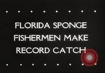 Image of sponge fishing Florida United States USA, 1946, second 3 stock footage video 65675063134