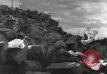 Image of German citizens scavenge for food at end of World War 2 Europe, 1945, second 5 stock footage video 65675063142