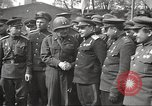Image of officials meet Torgau Germany, 1945, second 7 stock footage video 65675063152