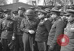 Image of officials meet Torgau Germany, 1945, second 8 stock footage video 65675063152