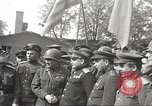 Image of officials meet Torgau Germany, 1945, second 10 stock footage video 65675063152