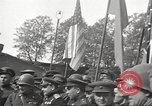 Image of officials meet Torgau Germany, 1945, second 11 stock footage video 65675063152