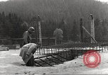 Image of slave labor camps Flossenburg Germany, 1945, second 5 stock footage video 65675063164
