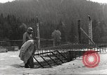 Image of slave labor camps Flossenburg Germany, 1945, second 6 stock footage video 65675063164