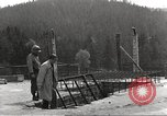 Image of slave labor camps Flossenburg Germany, 1945, second 7 stock footage video 65675063164
