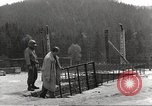 Image of slave labor camps Flossenburg Germany, 1945, second 8 stock footage video 65675063164