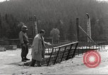 Image of slave labor camps Flossenburg Germany, 1945, second 9 stock footage video 65675063164