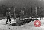 Image of slave labor camps Flossenburg Germany, 1945, second 12 stock footage video 65675063164