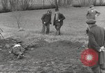 Image of Flossenbürg concentration camp atrocity victims Flossenburg Germany, 1945, second 4 stock footage video 65675063167