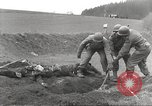Image of Flossenbürg concentration camp atrocity victims Flossenburg Germany, 1945, second 11 stock footage video 65675063167