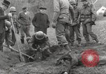 Image of victims of Flossenbürg Concentration Camp Flossenburg Germany, 1945, second 5 stock footage video 65675063168