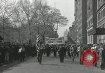 Image of May Day parade New York City USA, 1935, second 7 stock footage video 65675063187