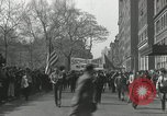 Image of May Day parade New York City USA, 1935, second 9 stock footage video 65675063187