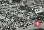 Image of May Day parade New York City USA, 1937, second 7 stock footage video 65675063190