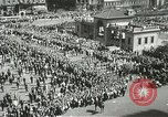 Image of May Day parade New York City USA, 1937, second 9 stock footage video 65675063190