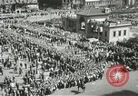 Image of May Day parade New York City USA, 1937, second 10 stock footage video 65675063190
