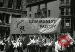 Image of May Day parade New York City USA, 1937, second 11 stock footage video 65675063190
