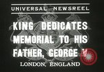 Image of King George VI London England United Kingdom, 1937, second 5 stock footage video 65675063191