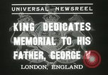 Image of King George VI London England United Kingdom, 1937, second 6 stock footage video 65675063191