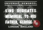 Image of King George VI London England United Kingdom, 1937, second 8 stock footage video 65675063191