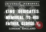 Image of King George VI London England United Kingdom, 1937, second 10 stock footage video 65675063191