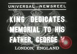 Image of King George VI London England United Kingdom, 1937, second 11 stock footage video 65675063191