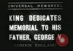 Image of King George VI London England United Kingdom, 1937, second 12 stock footage video 65675063191