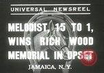 Image of Wood Memorial New York United States USA, 1937, second 2 stock footage video 65675063197