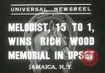 Image of Wood Memorial New York United States USA, 1937, second 5 stock footage video 65675063197