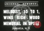 Image of Wood Memorial New York United States USA, 1937, second 6 stock footage video 65675063197