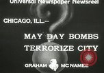 Image of damage from bombardment Chicago Illinois USA, 1933, second 6 stock footage video 65675063199