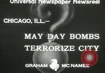 Image of damage from bombardment Chicago Illinois USA, 1933, second 7 stock footage video 65675063199