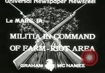 Image of Martial law Le Mars Iowa USA, 1933, second 1 stock footage video 65675063203