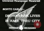 Image of Grand Prix motor racing Monte Carlo Monaco, 1933, second 2 stock footage video 65675063204