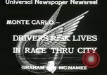 Image of Grand Prix motor racing Monte Carlo Monaco, 1933, second 3 stock footage video 65675063204