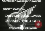 Image of Grand Prix motor racing Monte Carlo Monaco, 1933, second 8 stock footage video 65675063204