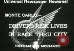 Image of Grand Prix motor racing Monte Carlo Monaco, 1933, second 9 stock footage video 65675063204