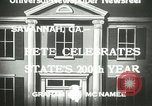 Image of 200th anniversary Savannah Georgia USA, 1933, second 4 stock footage video 65675063207