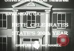 Image of 200th anniversary Savannah Georgia USA, 1933, second 5 stock footage video 65675063207