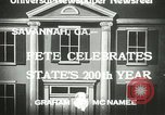 Image of 200th anniversary Savannah Georgia USA, 1933, second 7 stock footage video 65675063207