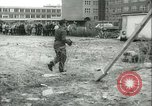 Image of Berlin civilians along Berlin Wall Berlin Germany, 1962, second 8 stock footage video 65675063212