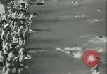 Image of American people during 1937 heat wave United States USA, 1937, second 4 stock footage video 65675063222