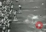 Image of American people during 1937 heat wave United States USA, 1937, second 6 stock footage video 65675063222