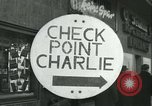 Image of Friedrichstrasse checkpoint Berlin Germany, 1961, second 3 stock footage video 65675063224