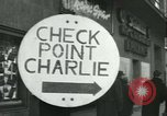 Image of Friedrichstrasse checkpoint Berlin Germany, 1961, second 6 stock footage video 65675063224