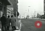 Image of Friedrichstrasse checkpoint Berlin Germany, 1961, second 10 stock footage video 65675063224