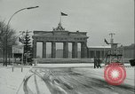 Image of Brandenburg Gate Berlin Germany, 1961, second 10 stock footage video 65675063225
